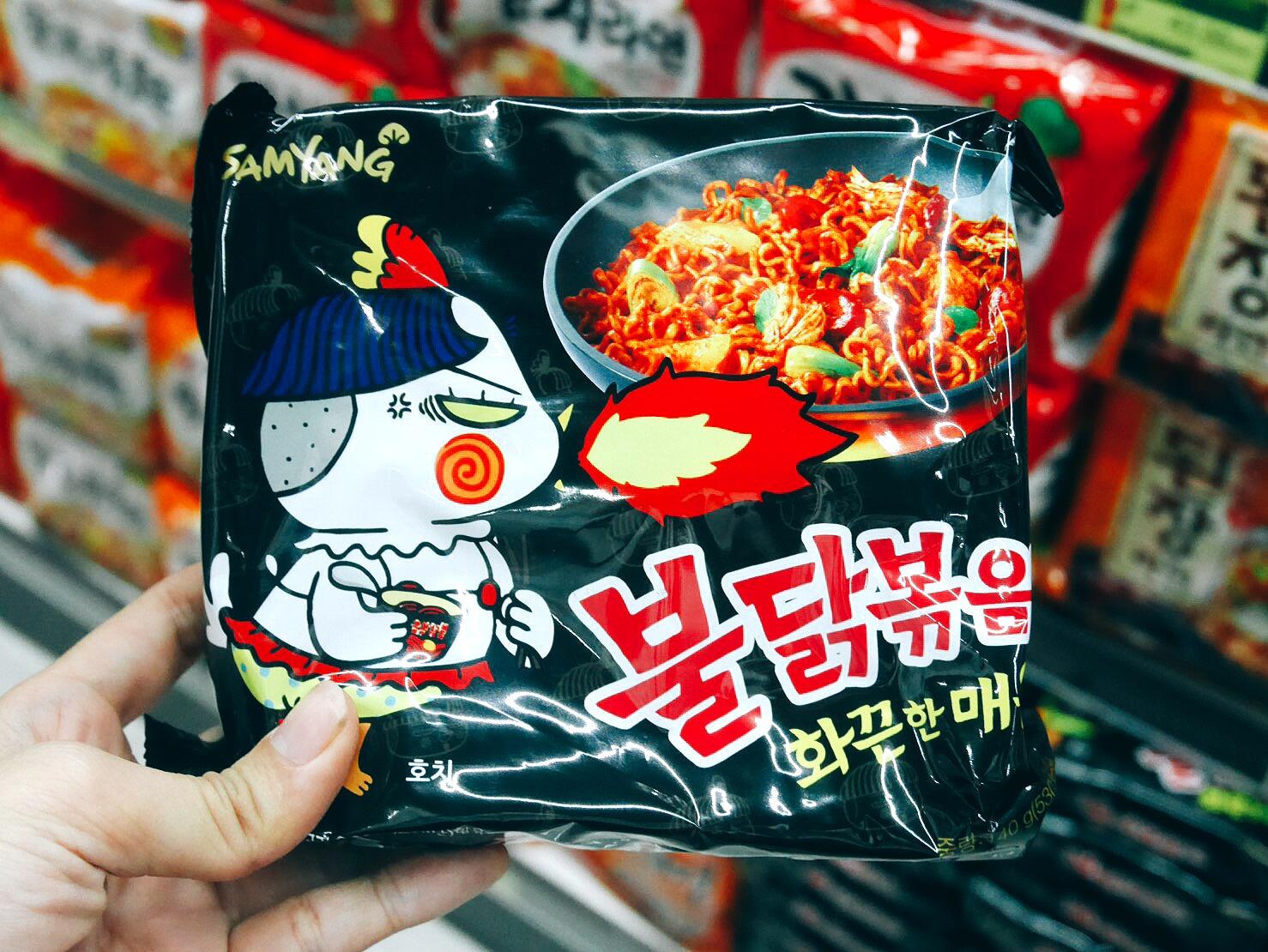 Noodle bag packaging one